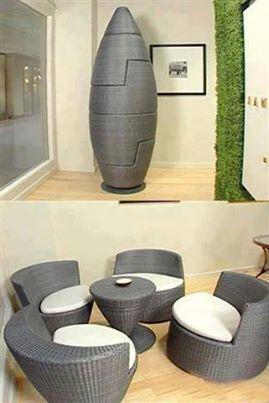 space saving chairs