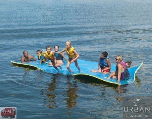 Floating Water Large Mat Lake Pool Swimming Float Raft Lounge Island Lily Pad 15 Floating In Water Pool Water Pad
