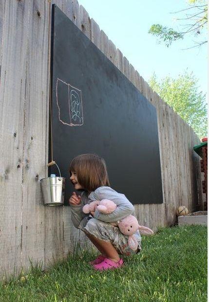 16 idées pour intégrer la peinture à tableau noir