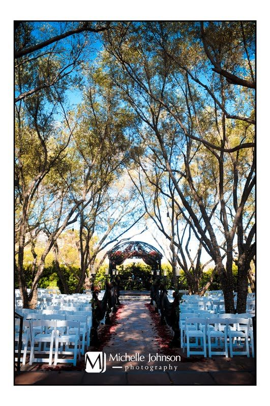 Our ceremony site. LOVE.