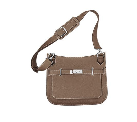 paris fakes hermes - Jypsiere 31 Hermes unisex shoulder bag in taupe taurillon clemence ...