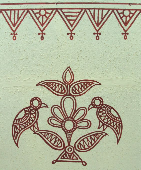 http//princesswithapen.hubpages/hub/Bheeth-Chitra-A-unique-Indian-tribal-wall-art-style-Step-by-step-guide