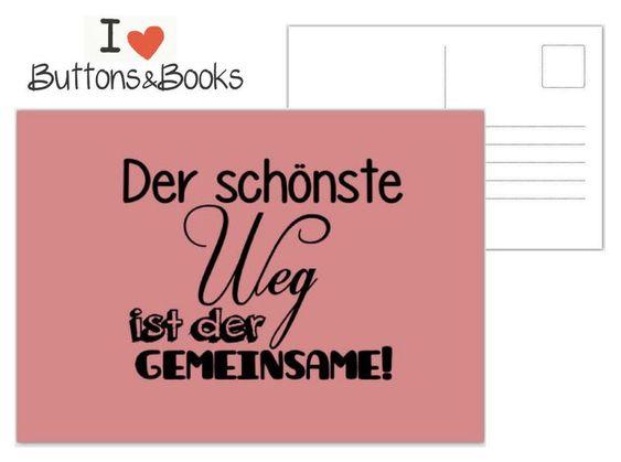 postkarte+spruch+zitat+-grußkarte+liebe+hochzeit+von+buttons&books