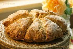 Aiken House & Gardens: Peach Preserves and Oatmeal Scones