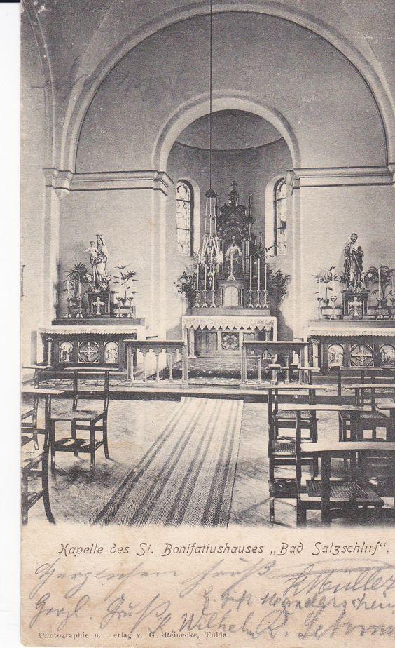 Kapelle Bonifatiushaus 1905