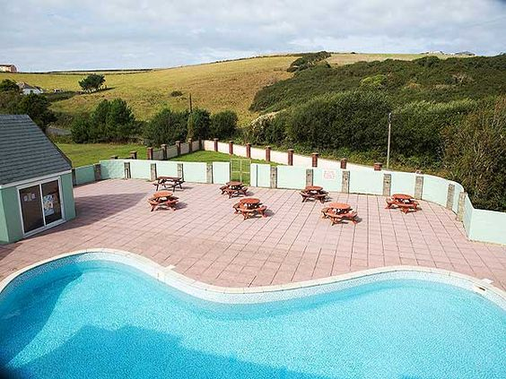 UK Private Static Caravan Hire at Newquay View Resort, Porth, Newquay, Cornwall