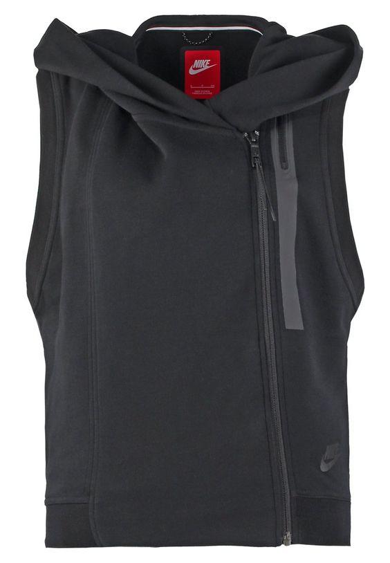 Nike Sportswear NIKE TECH FLEECE - Smanicato - black a € 59,50 (06/12/15) Ordina senza spese di spedizione su Zalando.it