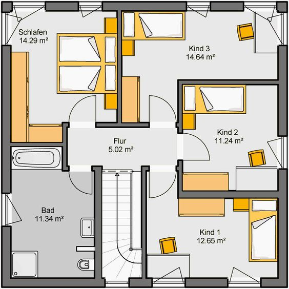 Fertighaus Camaro Grundriss DG Haus Pinterest Architecture - plan 3 k che