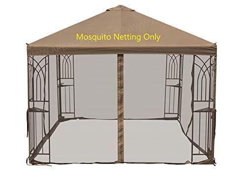 Apex Garden Universal 10 X 10 Gazebo Replacement Mosqui Https Www Amazon Com Dp B06xrn4g1v Ref Cm Sw R Pi Dp U X Kp Ecb12 Gazebo Mosquito Insect Netting