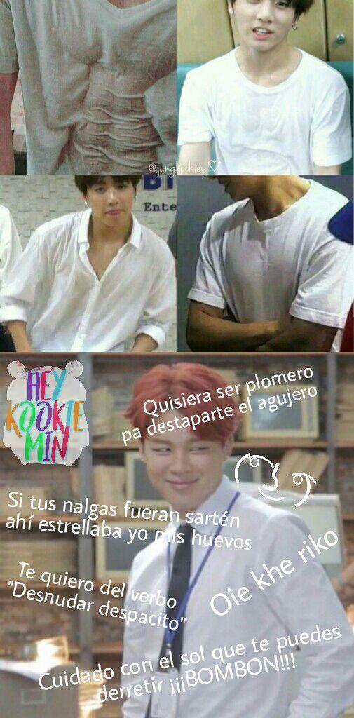 Jikook Memes 7u7 Memes Memes Coreanos Bts Memes