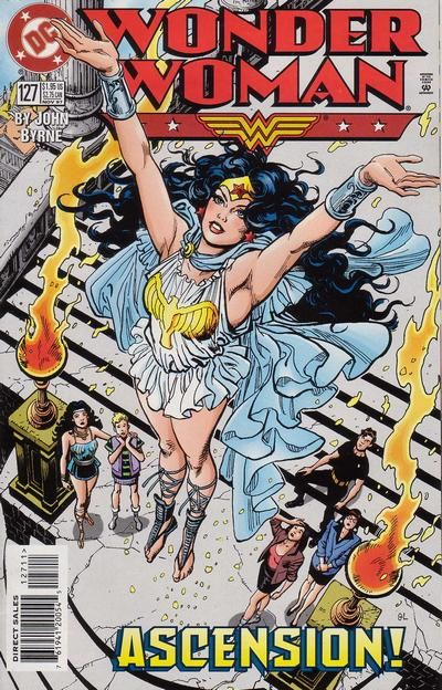 Cover for Wonder Woman (DC, 1987 series) #127