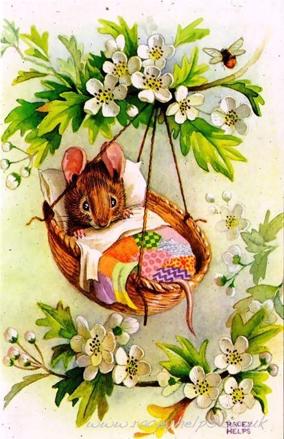 Beatrix Potter - baby mouse: