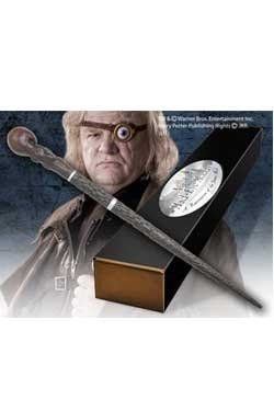 Amazon.com: Noble Collection - Harry Potter Wand Alastor Mad-Eye Moody (Character-Edition): Toys & Games