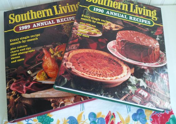 Vintage Southern Living 1989 and 1990 Annual by ThePigsMeow, $18.00