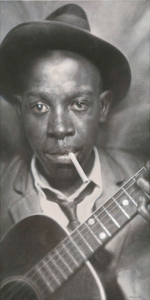 Robert Johnson By Sebastian Kruger Blues Music Robert Johnson Blues Artists