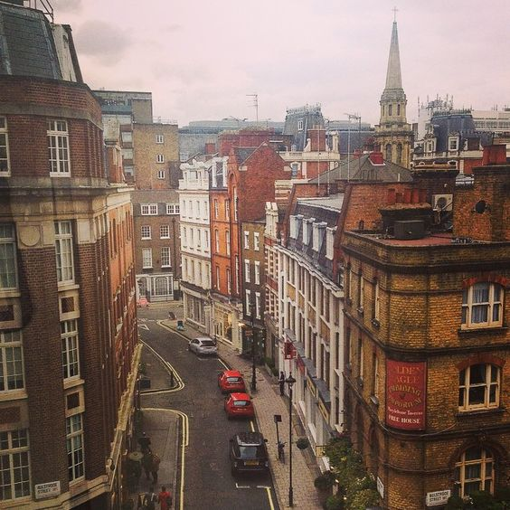 London's Marylebone neighborhood has some of the city's best vintage shopping spots. Photo courtesy of scplattner on Instagram.
