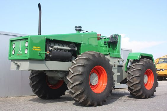 1970 Deutz D16006 Lastmodel Articulated Farm Tractor F8l413v Engine 160hp Twin Disc Gearbox Working Order 3 Point Hitc Tractors Old Tractors Big Tractors