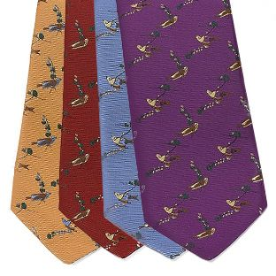 Surprise dad with a beautiful Audubon inspired tie by Brooks Brothers.