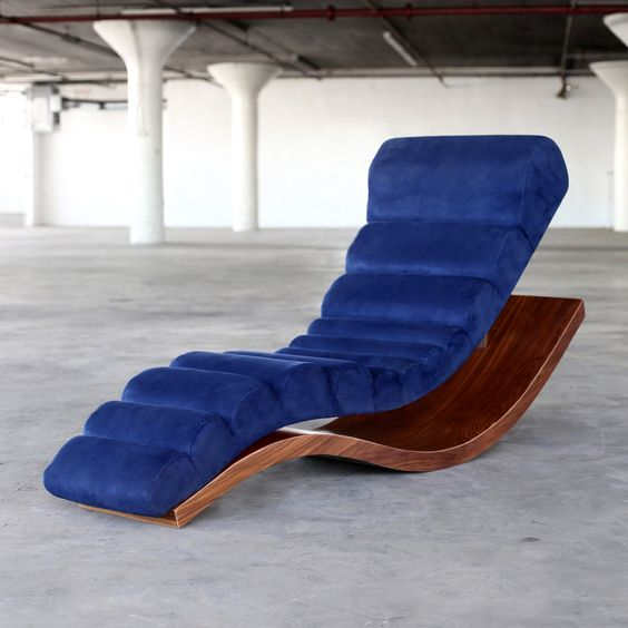 Wave Luxury Chaise Lounge Brooklyn Nyc Sentient Chaise Chaise Lounge Chaise Longue
