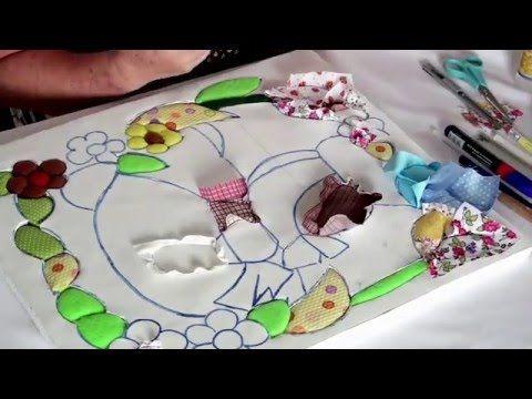 PATCHWORK SIN AGUJA con MARLEN BADILLA - YouTube