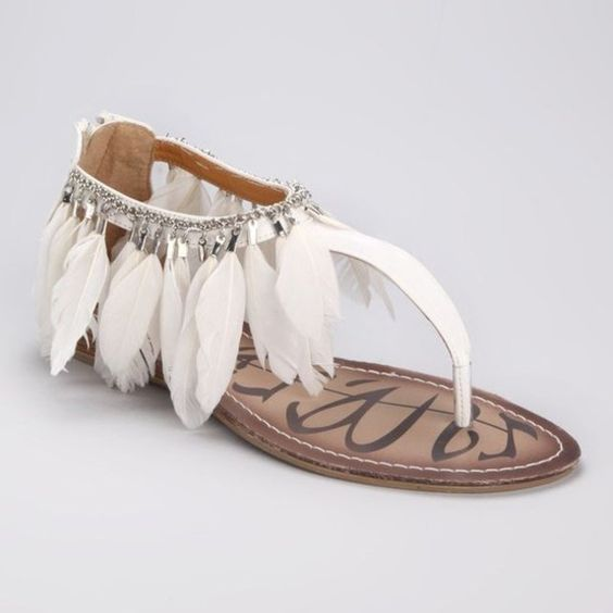 Trendy flat #sandal: