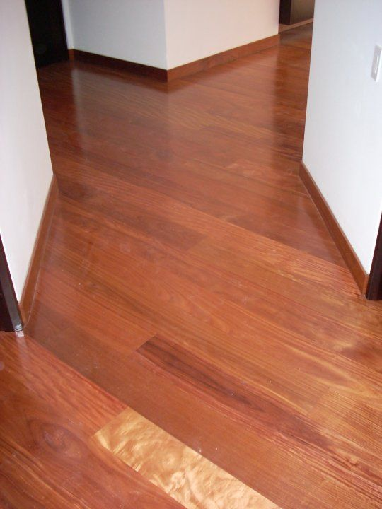 Floor Wood Baseboard : Brazilian cherry floors baseboards and on