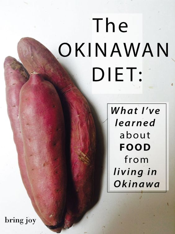 the okinawan diet -- what I've learned about food from living in Okinawa // bring-joy.com