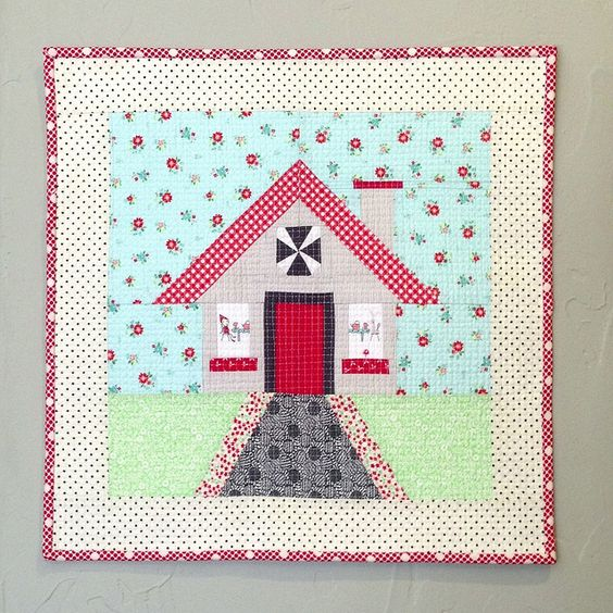 Vintage Candy Cottage Mini by Three Owls, via Flickr