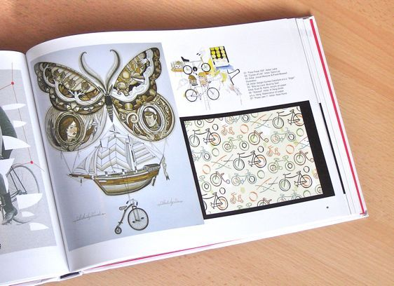 Illustration Appearing in BIKE ART: Bicycles in Art Around the World | Sean Kane Illustration
