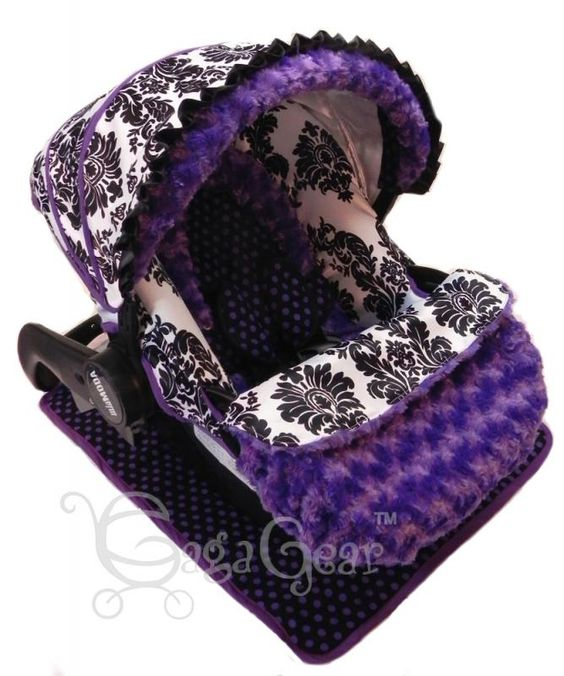 Purple Baby Girl Car Seat Covers Purple Cars Baby Gear