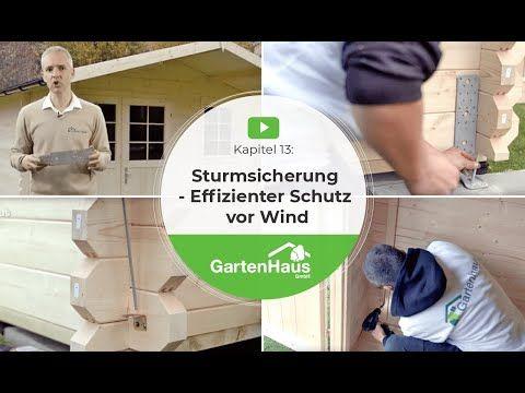 Wir Zeigen Mit Video Tutorials In 14 Kapiteln Wie Sie Ihr Gartenhaus Ganz Einfach Aufbauen Vom Fundament Gartenhaus Holzhaus Garten Gartenhaus Selber Bauen