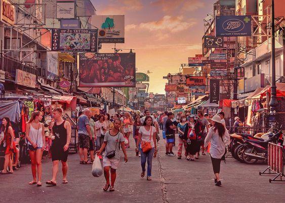 [Chia sẻ] Du lịch đường Khaosan, Bangkok, Thái Lan