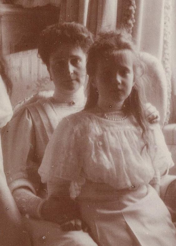 Alexandra and Anastasia.