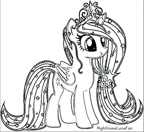 My Little Pony Coloring Pages Twilight Sparkle My Little Pony Princess Coloring Pages Pony My Little Pony Coloring Horse Coloring Pages My Little Pony Unicorn