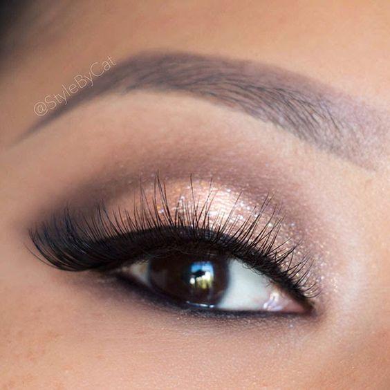 Wedding Eye Makeup Hooded Eyes : Gold smokey eye, Tutorials and Smokey eye tutorial on ...