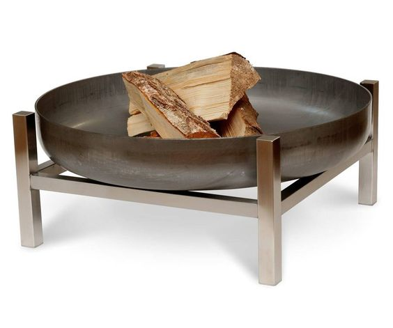 Good Steel Crate Fire Pit