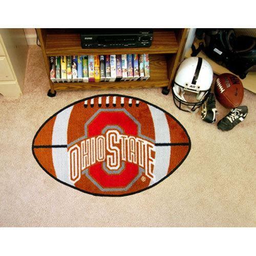 Ohio State Buckeyes Ncaa Football Floor Mat 22 X35 Ohio State Buckeyes Football Ohio State Buckeyes Buckeyes Football