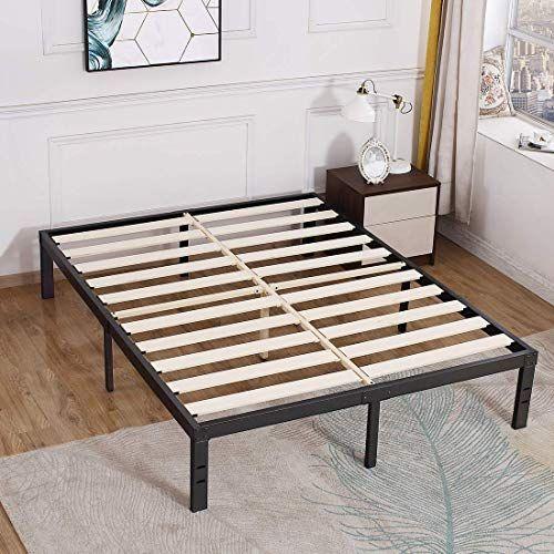 Buy Tatago 3500lbs Upgraded Heavy Duty Wooden Slats Platform Bed