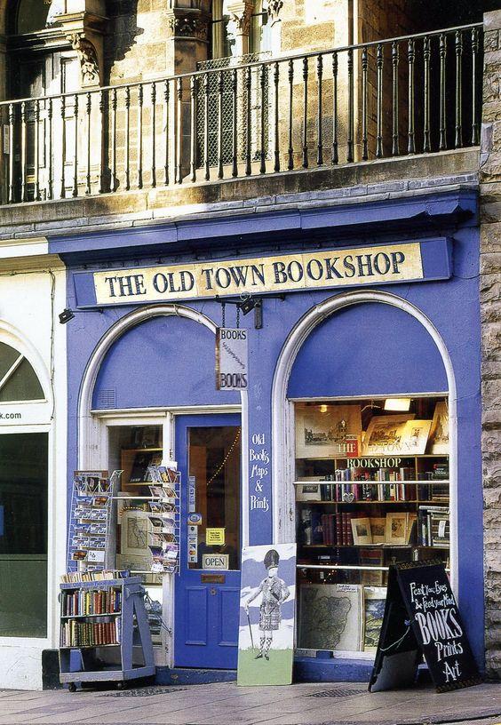 The Old Town Bookshop, Victoria Street, Edinburgh, Scotland