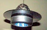 CD Space Ship Craft also cool for a light  for a childs room