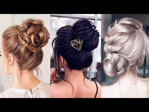 11 Easy Updo Hairstyles For Formal Events Elegant Updos To Try Hair Styles Medium Hair Styles Easy Updo Hairstyles