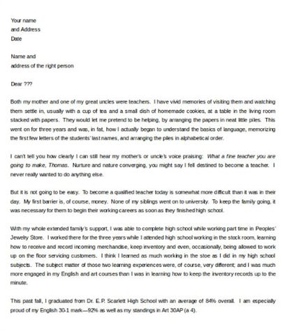 Sample Letter Of Intent Template 10 Letter Of Intent Templates Free Sample  Example Format, Letter Of Intent Sample Writing Professional Letters, ...  Writing A Professional Cover Letter