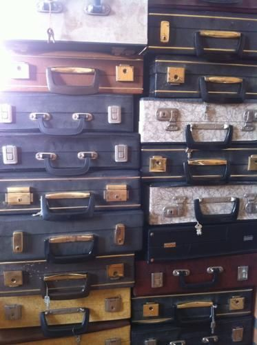 22 diverse LP koffers - Prijs: Gratis