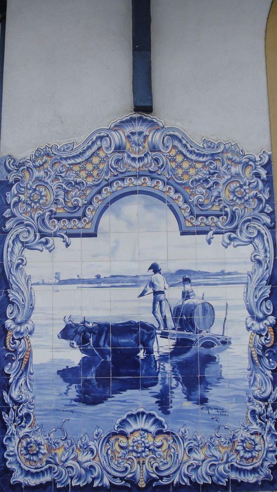 Azulejos do Mercado Municipal de Santarém