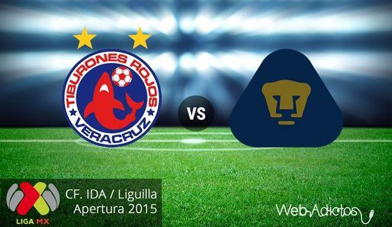 Veracruz vs Pumas, Liguilla del Apertura 2015 ¡En vivo por internet! | Partido de ida - http://webadictos.com/2015/11/26/veracruz-vs-pumas-liguilla-apertura-2015/?utm_source=PN&utm_medium=Pinterest&utm_campaign=PN%2Bposts