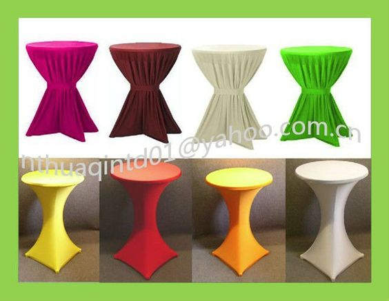 High Top Table Covers | ... table cover banquet cocktail table ...
