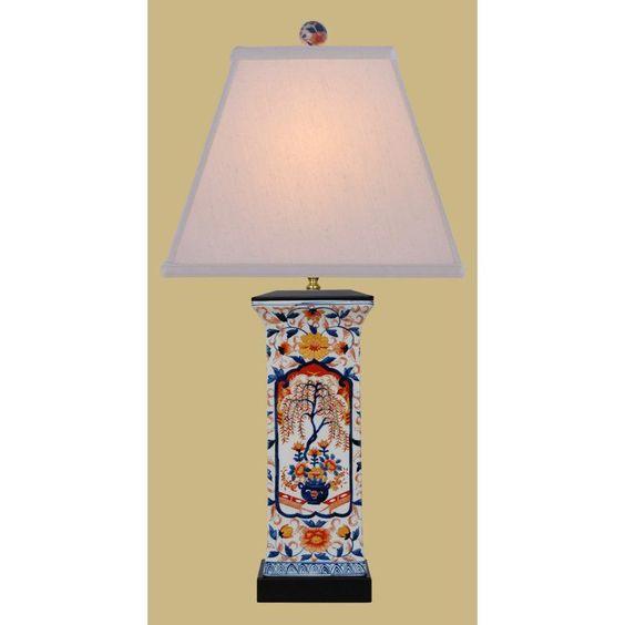 East Enterprises LPBKL1014S Amorial Vase Table Lamp - Multicolored - LPBKL1014S