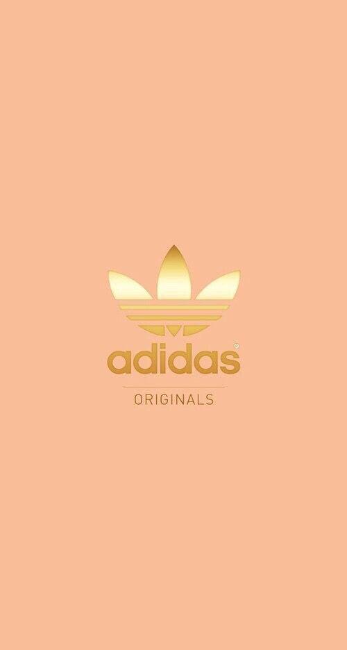 adidas wallpaper gold