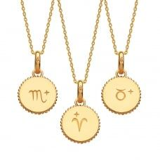 #JohnGreed | Links of London | Yellow Gold Vermeil Zodiac Charm Necklace