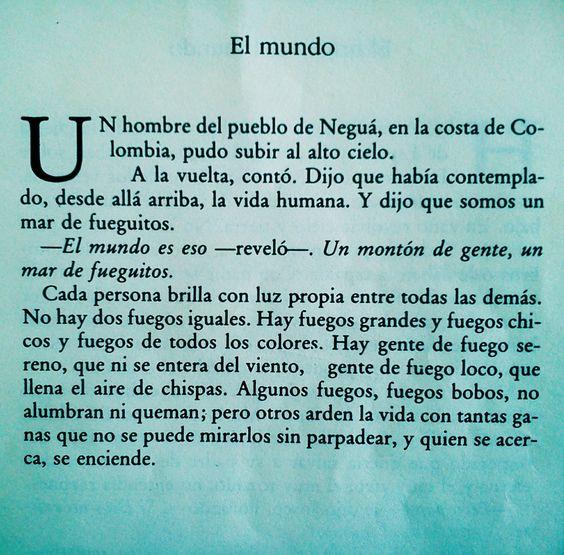 El libro de los abrazos, Eduardo Galeano